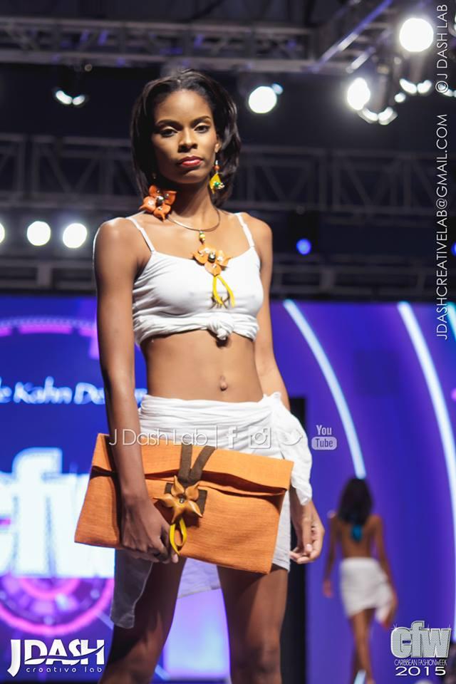 Kamille Khan Designs at Caribbean Fashion Week 2015