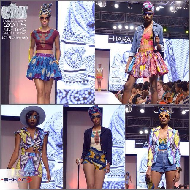 Caribbean Fashion Week 2015 First Look, Love for Cedella Marley