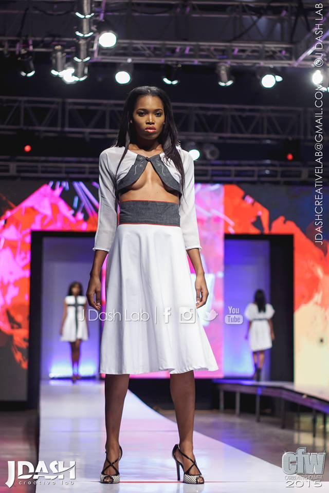 Jamaican Designer Zaid at Caribbean Fashion Week 2015