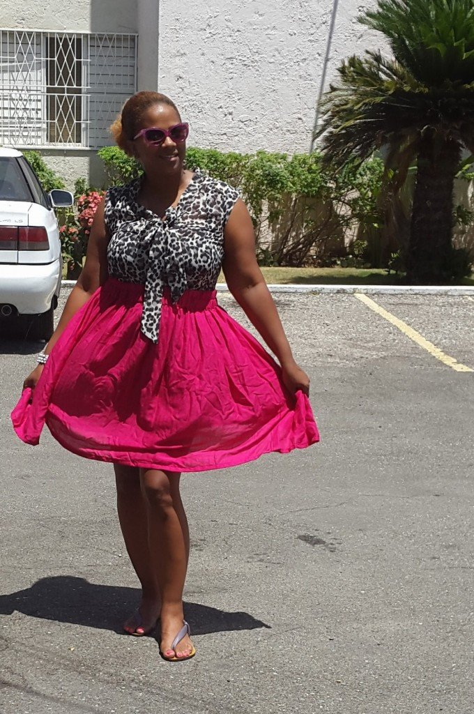 IrieDiva DIY Gathered Waist Skirt