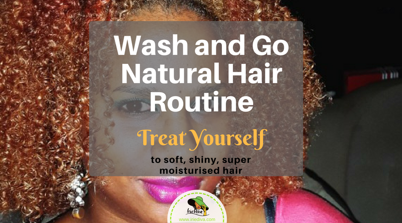 Wash n Go Routine for 3C Blonde Natural Hair