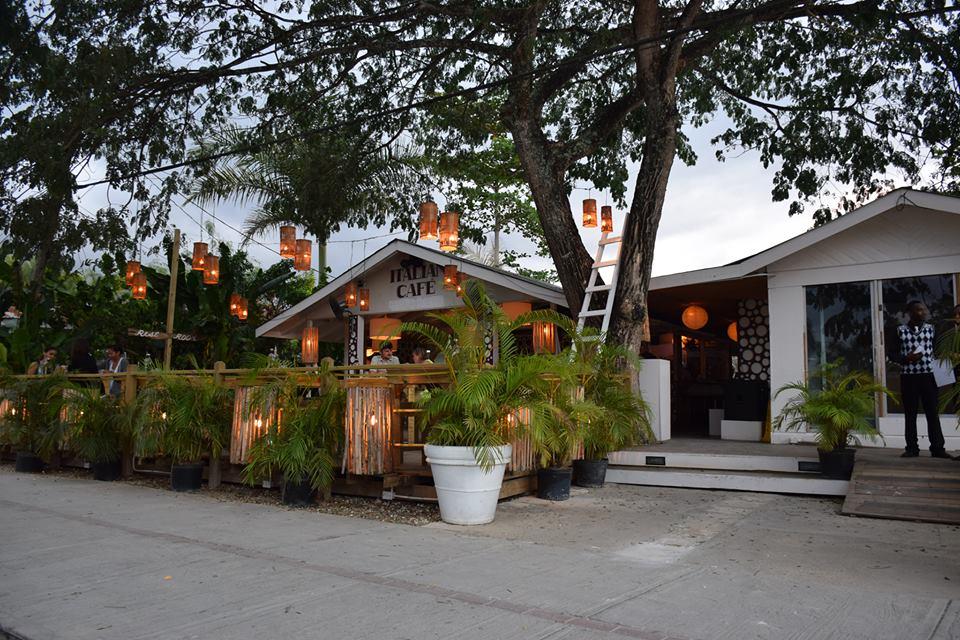 Italian Cafe in Negril