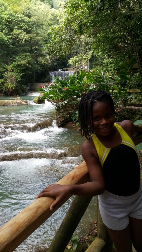 Some of YS Falls St. Elizabeth