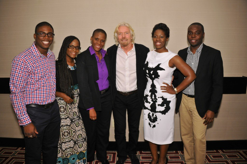 RB_BCoECentrepreneurs_GrowSir Richard Branson and some of the official BCoEC entrepreneurs in 2013