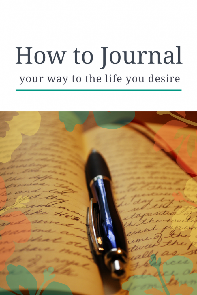 How ro Journal Your Way to the Life You Desire