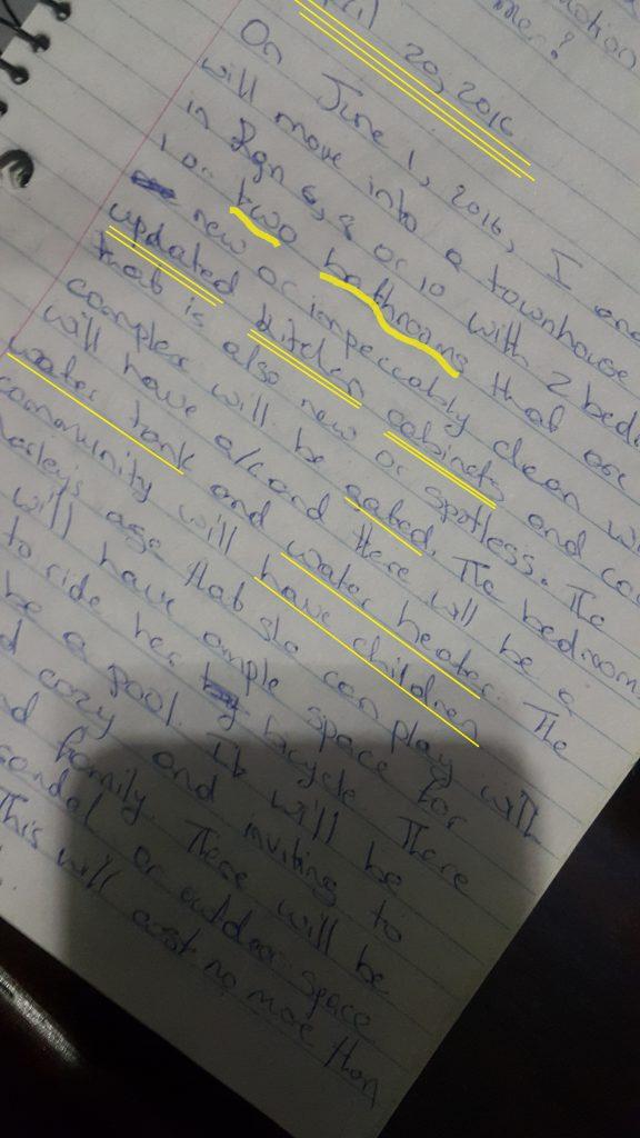 power of journal writing