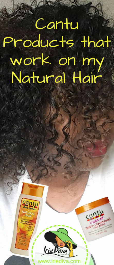Cantu Shea Butter products that work for my natural hair