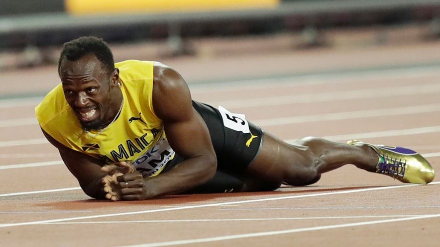 Usain Bolt's final race