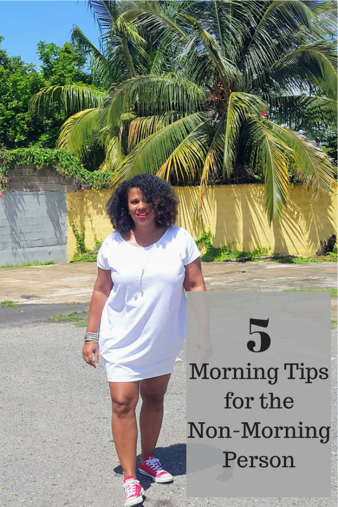 5 Morning Tips for the Non-Morning Person