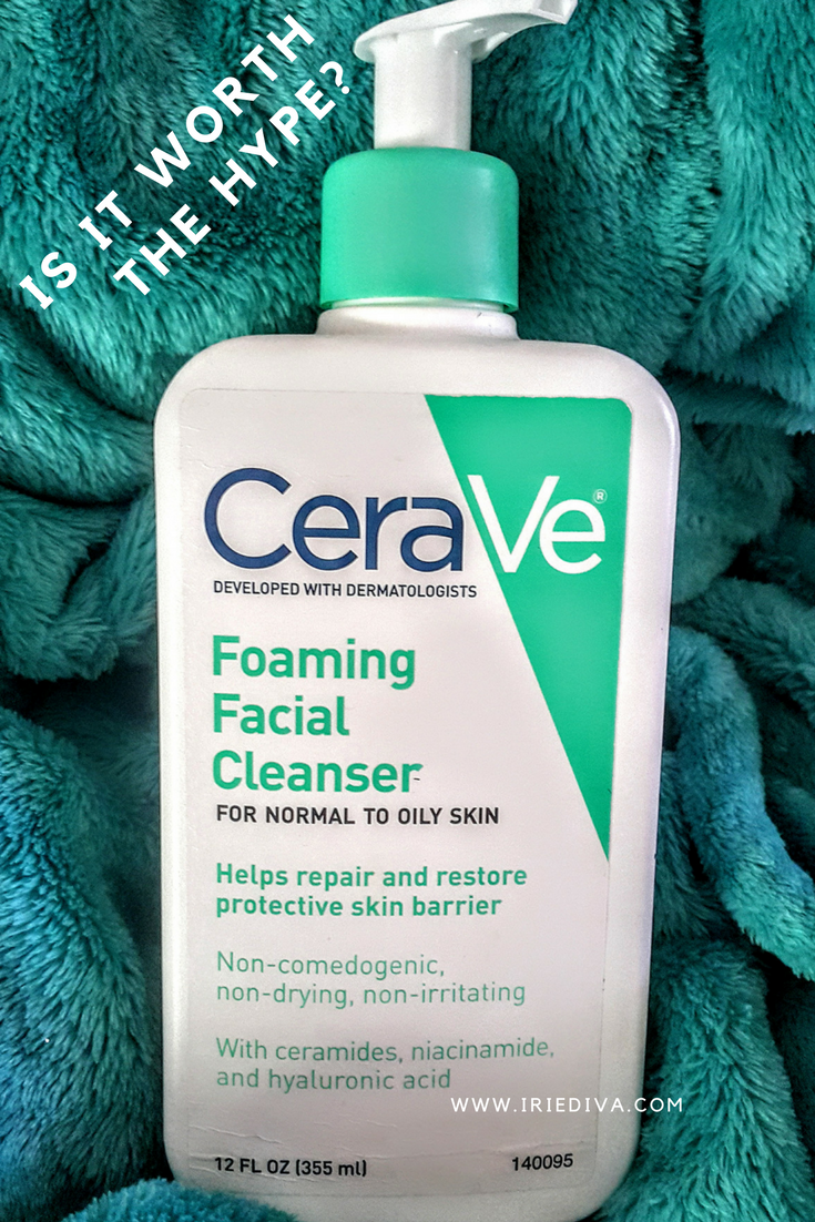 CeraVe Foaming Facial Cleanser Review – Great for Combo Skin
