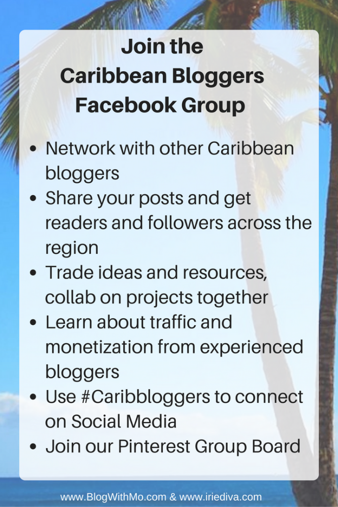 Join the Caribbean blog facebook group
