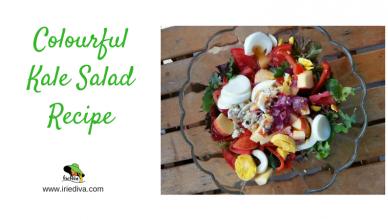 A Colourful Kale Salad Recipe