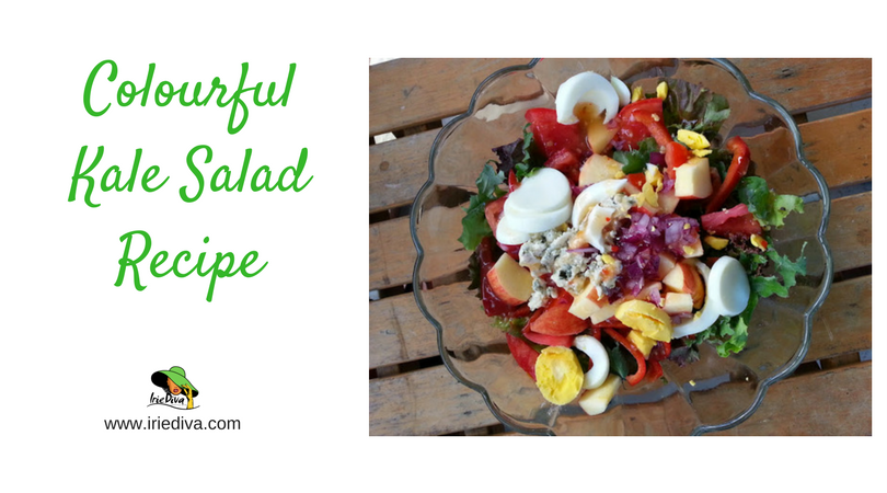 You NEED This! A Colourful Summer Kale Salad Recipe