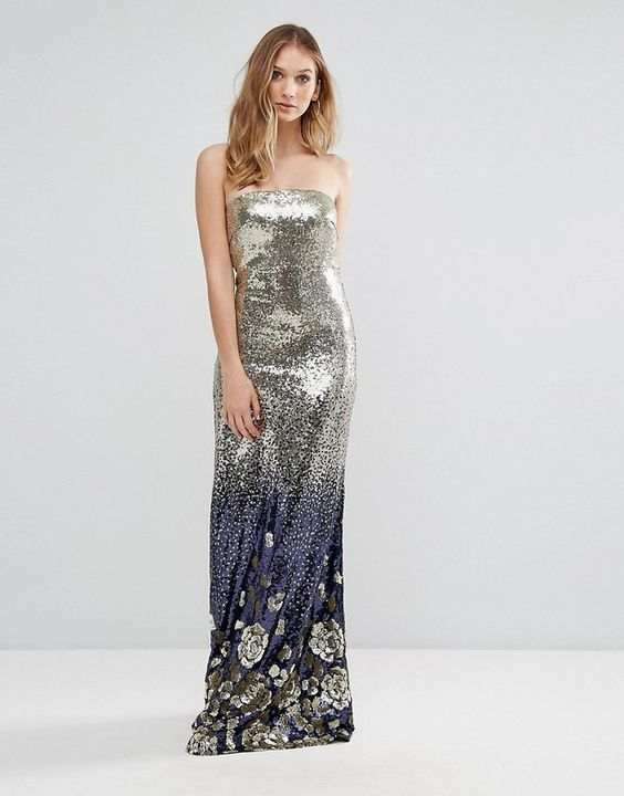 New Year's Eve Shiny Sequin Dress