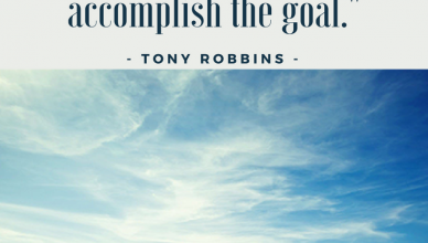 October Goal Setting - Working on becoming a doer