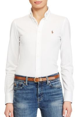 Polo Ralph Lauren Classic White Shirt