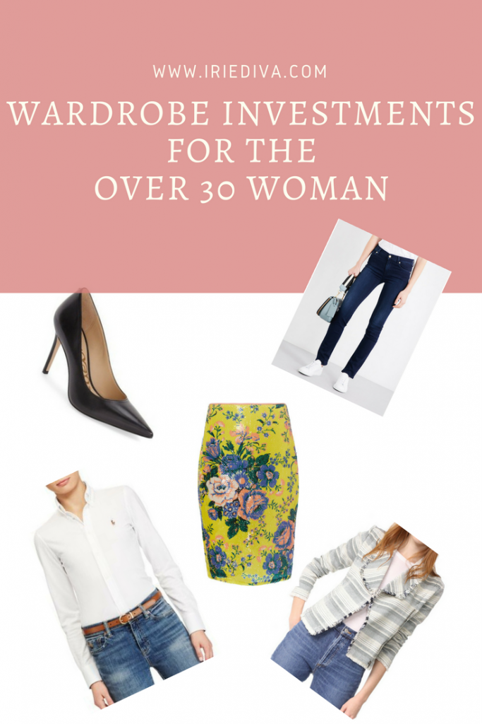 Wardrobe Investments for the Over 30 Woman