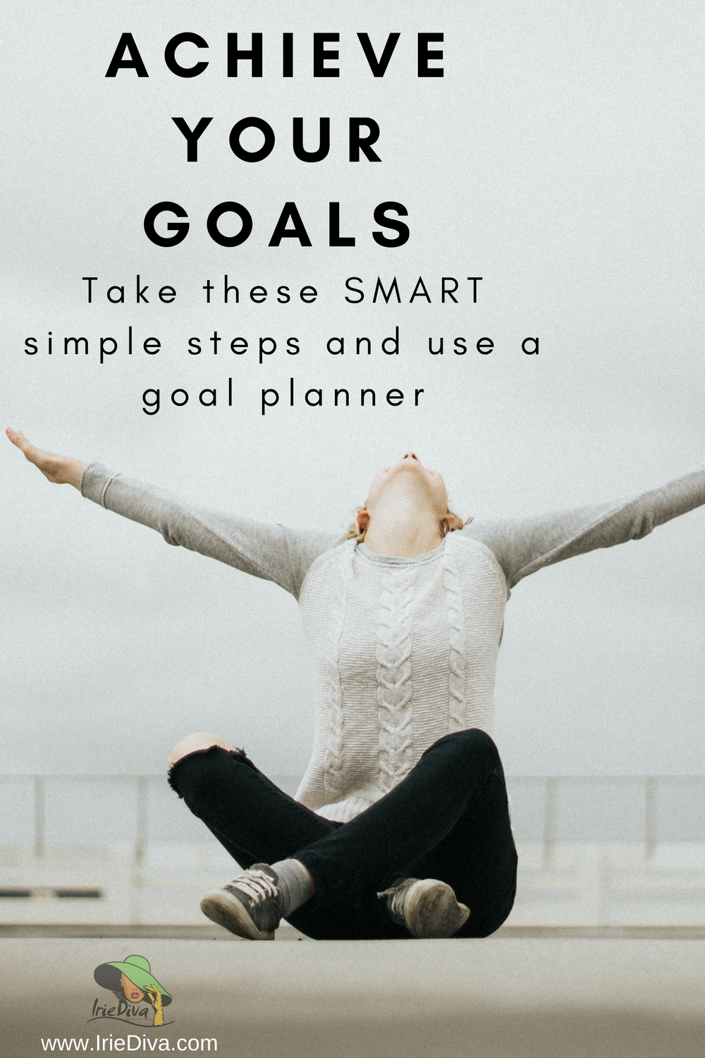 How to achieve your goals by making them SMART and breaking them down into monthly, weekly and daily tasks in a goal planner to achieve success.