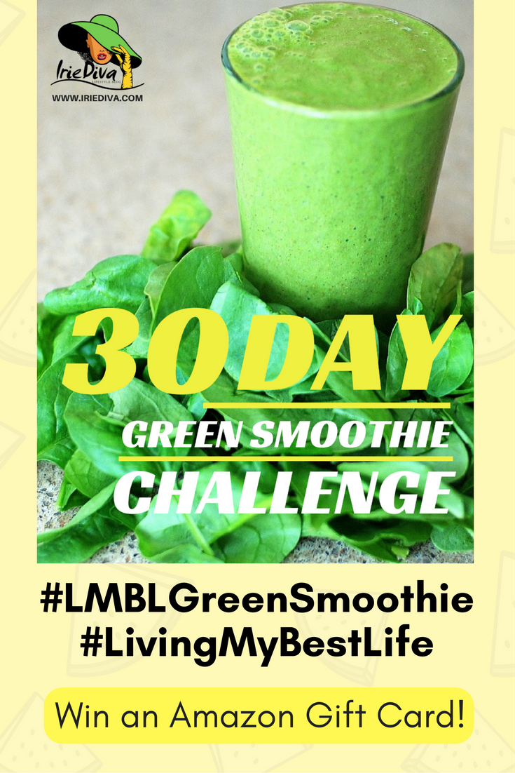 Join the 30-day Living My Best Life Green Smoothie challenge and win an Amazon gift card! Join the Facebook group for daily recipes, download the recipe guide to create your own, share your green juice or green smoothies with the hashtag #LMBLGreenSmoothie for a chance to win! Green smoothies help with weightloss, detoxification and overall health and wellness since they are packed with vitamins and minerals and many other nutrients that the body needs to function optimally day-to-day.