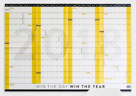 self journal wall calendar