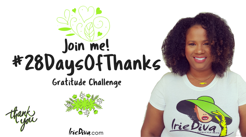 #28DaysOfThanks Gratitude Challenge - Daily Gratitude Affirmations and Journal Prompts to live your best life. Join in with gratitude activities for kids or for yourself