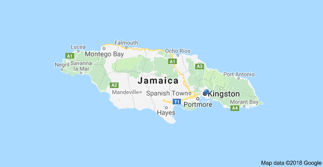 The best time to go to jamaica common visitor questions answered map of jamaica showing kingston and montego bay gumiabroncs Image collections