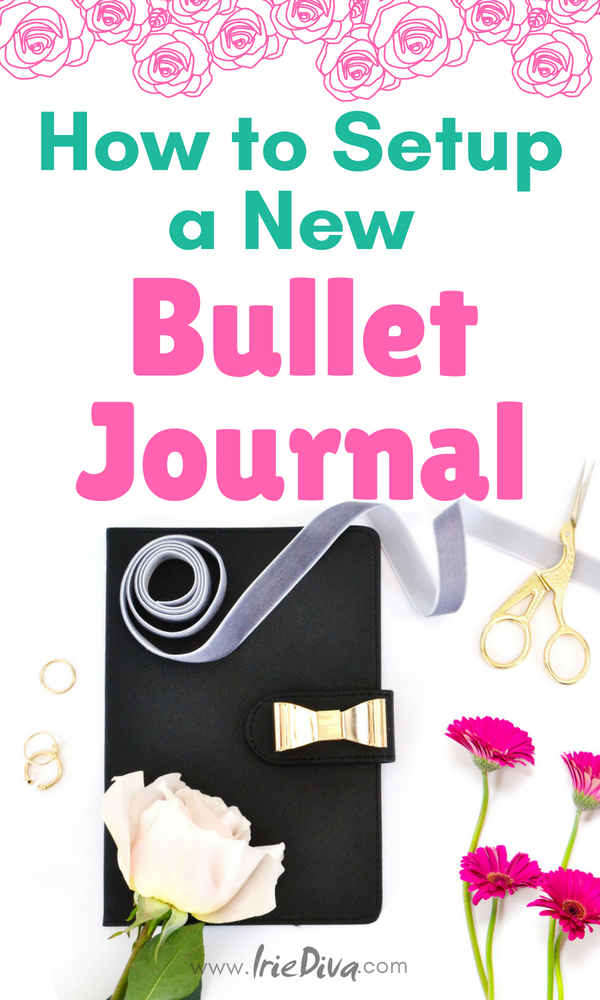 Complete bullet journal setup guide. Learn how to start a bullet journal: Step by step bujo setup for beginners. Get simple layout ideas for starting your bullet journal journey. #bujo #bulletjournal