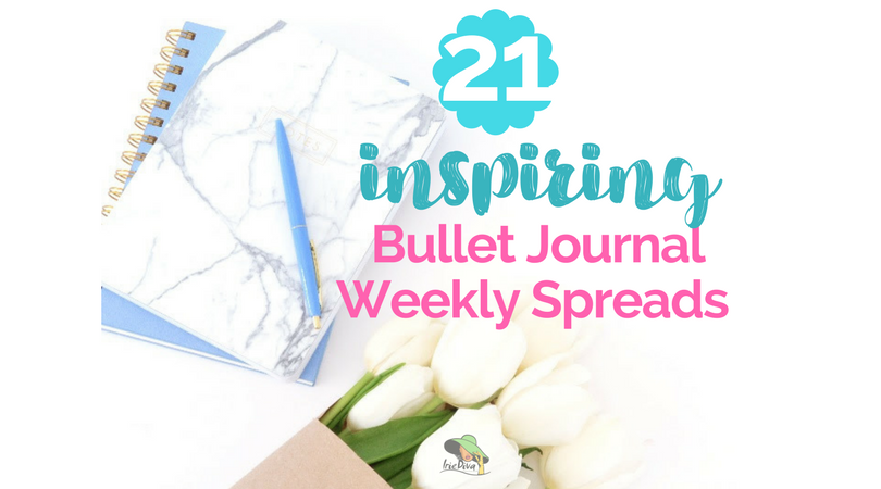 21 Bullet Journal Weekly Spread Ideas to Stir Your Creativity