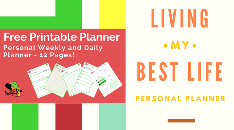 Free Weekly Planner Printable: Use it to Live Your Best Life