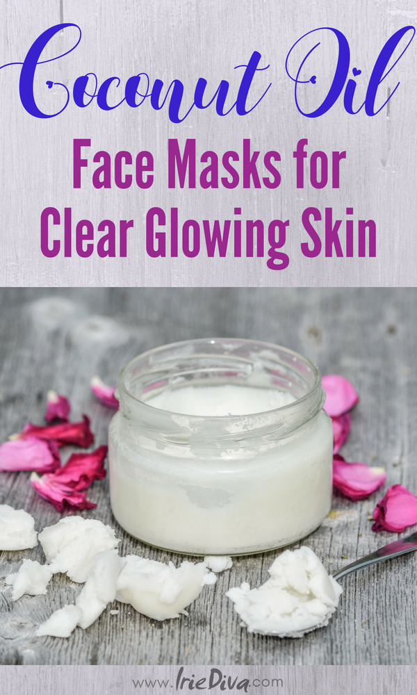 Coconut oil face masks for acne. Clear your skin and reveal youthful glowing skin with these DIY beauty recipes all made with coconut oil.