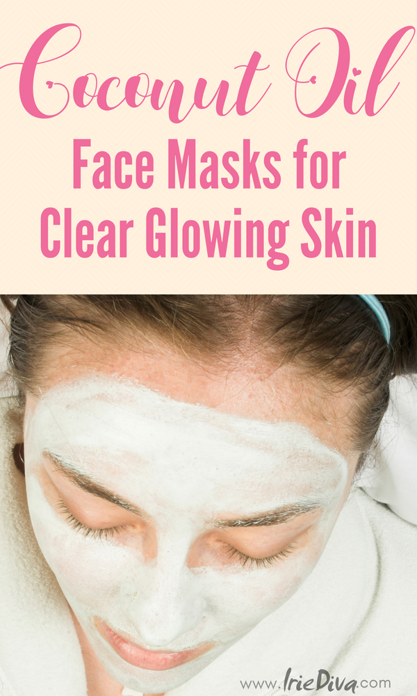 Coconut oil face masks reveal softer, smooth skin for a beautiful glow #coconutoil #facemask #diybeauty