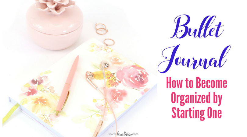 How to Become Organized by Starting a Bullet Journal + Setup Guide