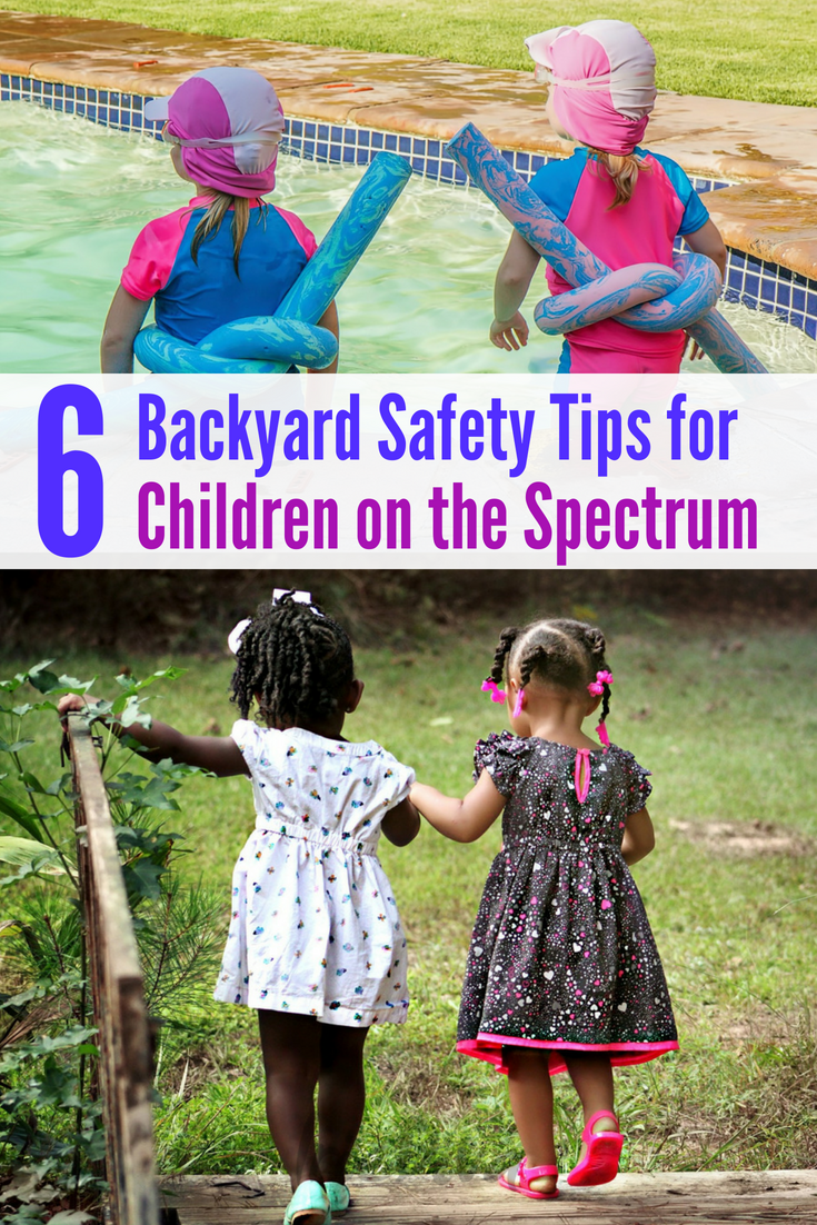 How to make backyard play safe for children on the spectrum: Backyard playground safety for children with autism