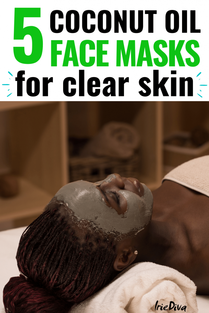 Coconut Oil Facial Mask for clear skin