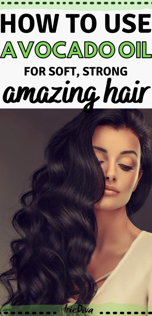 Avocado oil benefits hair