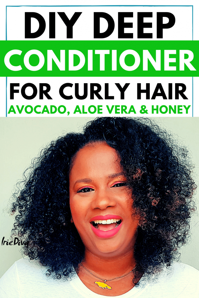 diy aloe vera and avocado deep conditioner