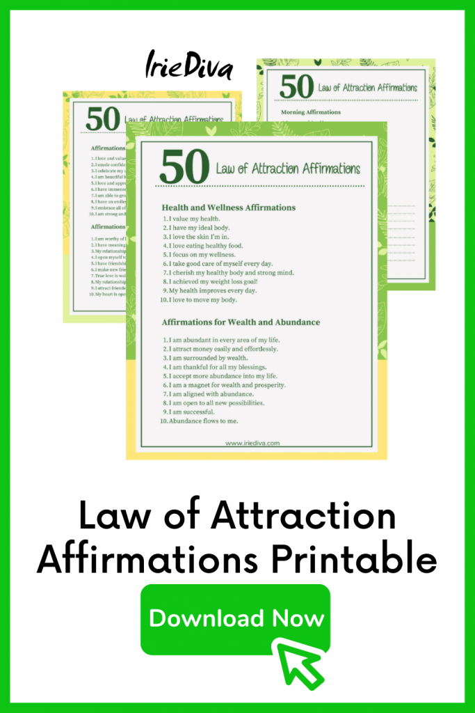 50 Law of Attraction Affirmations for Finances, Love and More